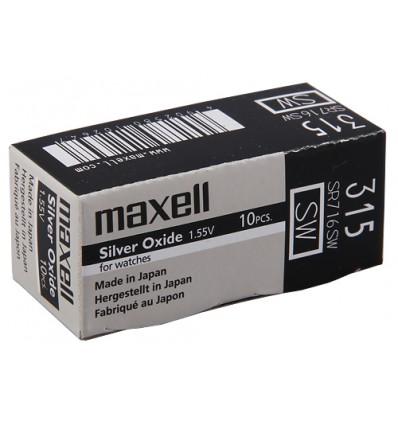 Bateria srebrowa Maxell 315 / SR 716SW