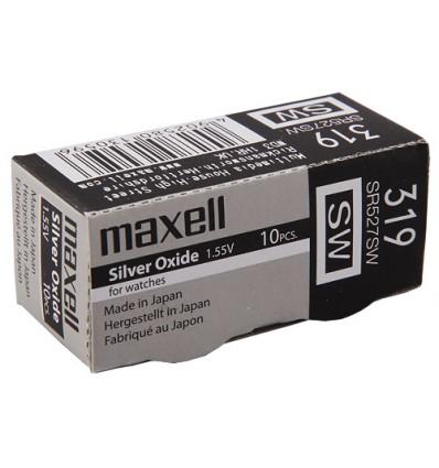 Bateria srebrowa Maxell 319 / SR 527SW