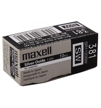 Bateria srebrowa Maxell 381 / SR 1120SW