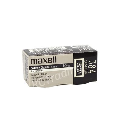 Bateria srebrowa Maxell 384 / SR 41SW