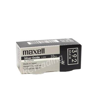 Bateria srebrowa Maxell 392 / SR 41W