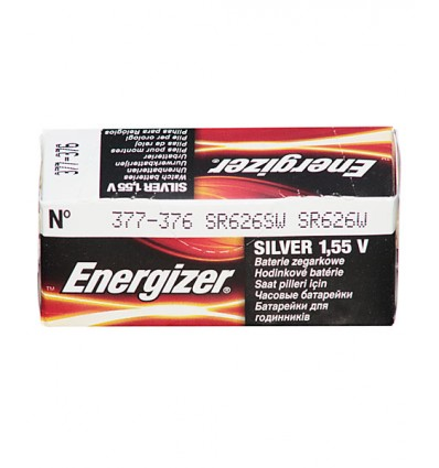 Bateria srebrowa Energizer 377 / SR 626SW