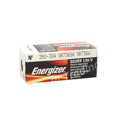 Bateria srebrowa Energizer 392 / SR 41W
