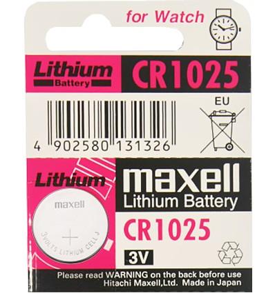 Maxell-CR1025-baterie-litowe-3V-goenergia