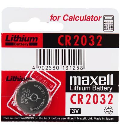 Maxell CR 2032 baterie litowe 3V