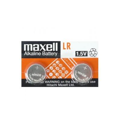 Maxell LR43 baterie alkaliczne - 10 szt.